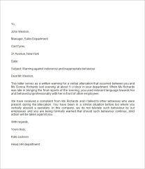 Hr Warning Letter Warning Letter Hr Rome Fontanacountryinn Com