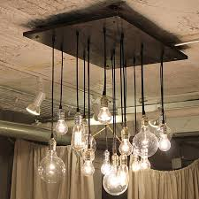 industrial chandelier