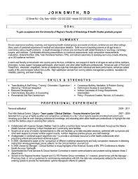 grad student resume