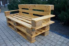... Wood Outdoor Bench Reclaimed Pallet Bench ...