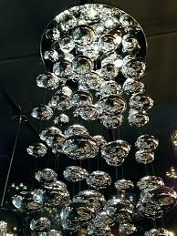 bubble light chandelier glass bubble light chandelier medium size of light cascading glass bubble chandelier with