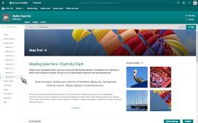 Sharepoint Team Site Template Modern Templates For Sharepoint Online O365