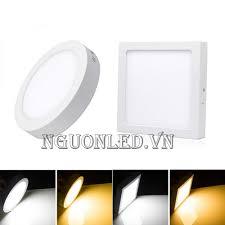 Đèn Led ốp trần nổi 24W, giá rẻ, loại tốt, mua tại nguonled.com