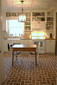 Small Picture Best 25 Brick tile floor ideas on Pinterest Brick floor kitchen