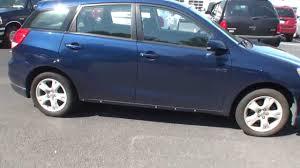 2003 Toyota Matrix Blue FB26583a - YouTube