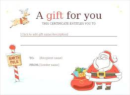 Christmas Certificates Templates For Word Custom Christmas Iou Template Comeunity