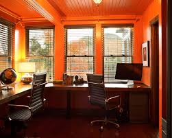 home office colors feng shui. Shared Home Office Feng Shui Orange Color 3171 Designs And Colors