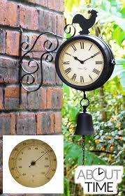 clocks cocl bell outdoor clock