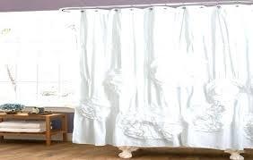 light gray ruffle shower curtain ombre grey target curtains dark linen bathrooms