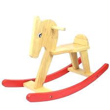 wooden rocking horse for toddler rocking toys children wooden rocking horse ride on kids baby toys wooden rocking horse for