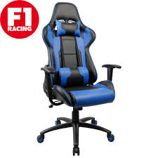 gaming chair merax executive f1 racing high back office lumbar support headrest t on
