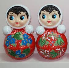 <b>Развивающая игрушка Russia Неваляшка</b> 35.6 см - Акушерство.Ru