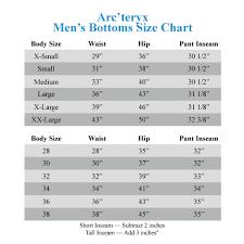 Arcteryx Jacket Size Chart Arcteryx Cerium Lt Vest Zappos Com