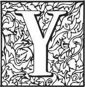 Small Picture Letter Y coloring pages Free Coloring Pages