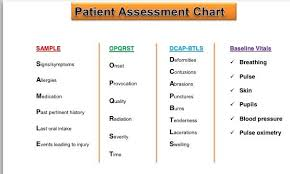 Opqrst And Others Ems Patient Assessment Paramedic Student