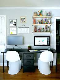 two person home office desk. Two Person Desk Home Office Double Best