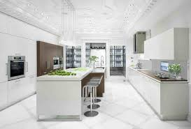 Home Furnitures Sets White Kitchen Cabinets With White Countertops