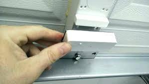 installing garage door sensors install garage door sensors recessed door sensor installation garage door open close