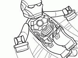 41 Iron Man Lego Coloring Pages Lego Iron Man Kleurplaat Gratis