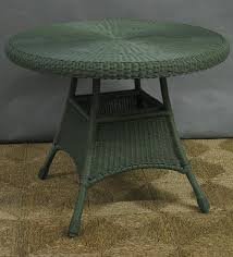 42 all weather outdoor wicker dining table