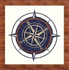 compass rose rug round area canada