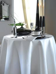 Kudos Plain Table Linen - White