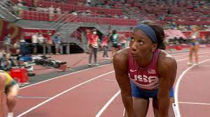 Keni Harrison takes second in 100m ...
