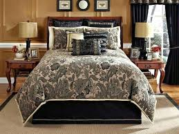 architecture black and taupe bedding thuetool info intended for designs 10 uk dawson sets king toile