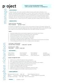 Construction Project Manager Resume Template Awesome Best Project Manager Resume Construction Project Manager Resume