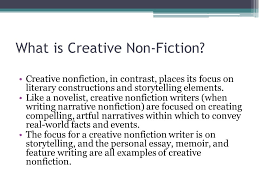 creative non fiction an introduction what is non fiction most  4 what