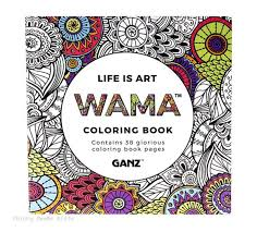 ganz wama life is art adult coloring book ganz wama life is art adult coloring book chicky dee s gifts 1