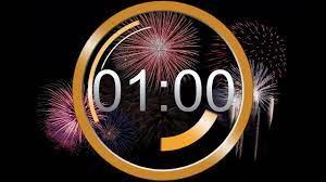 New Year Countdown 2022 ❆ last 60 secound / 1 minute TIMER / Neujahr letzte  1 Minute - YouTube