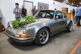 Restoration Design Porsche Parts Singer Vehicle Design Celebrates Its 100th Porsche 911