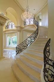 beautiful custom interior stairways. To Add A Beautiful Detail Your Foyer Rot Iron Banister Staircase. - Dani From Dannick Design Custom Interior Stairways G