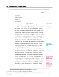 Example Of Mla Research Paper With Citations S How To Properly
