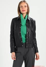 first class quality women black goosecraft chelsea jacket leather jacket ynnq5a72