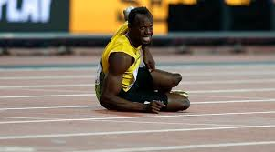 usain bolt running side view. watch: usain bolt\u0027s final race ends with unfortunate injury in 4x100m relay of world athletics championships bolt running side view