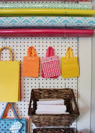 the craft room week two with diy gift wrapping station at thehappyhousie com 11