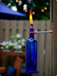 Amazoncom  TIKI 1111356 Lamplight Glowing LED And Flame Torch Backyard Torch