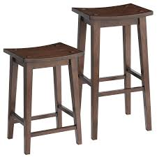 lawson tuscan brown backless counter  bar stool  pier  imports
