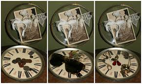 steampunk decor | DIY Steampunk Home Decor: Clock Face Catch All