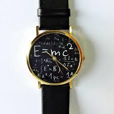 einstein watch e mc2 equation watch vintage style leather watch women watches