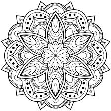 Small Picture Mandala Color Pages Cool Coloring Mandala Color Pages With 17 Best