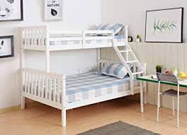 King Westwood New Detachable Bunk Beds Single Top Double Base Bed Solid Wood Frame Amazon Uk Westwood New Detachable Bunk Beds Single Top Double Base Bed