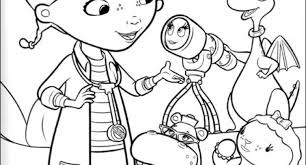 Small Picture Doc Mcstuffins Coloring Pages Printable Awesome Lamb Coloring