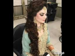 stani indian party makeup and wedding hair style