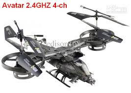New Arrivals ATTOP YD711 Avatar 2.4G 4ch Remote Control Helicopter GYRO YD 711 Rc Children Kid Toy Gift Electric Radio Cars Race