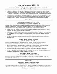 Filipino Nurse Resume Sample Inspirational Registered Nurse Resume
