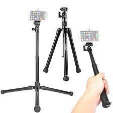 Kingjoy P056 5 Section DSLR kamera Tripod Canon Sony kamera standı hafif ve  taşınabilir alüminyum Tripod Selfie sopa f20860|tripod for|aluminium  tripodcamera tripod - AliExpress