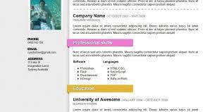 Best Resume Template Free Resume Clean Resume Templates Free Clean Resume Template Free Best 19